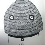 the masked man sketch streetart web