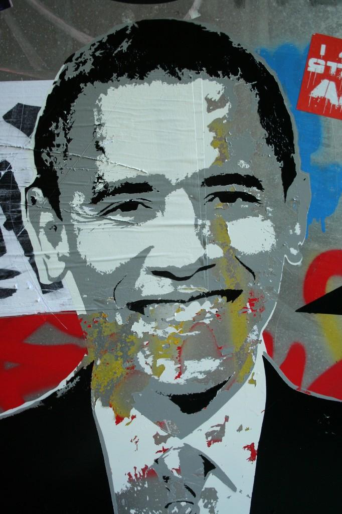 Obama Stencil