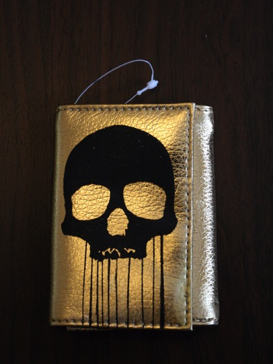Skull Wallet Screenprint