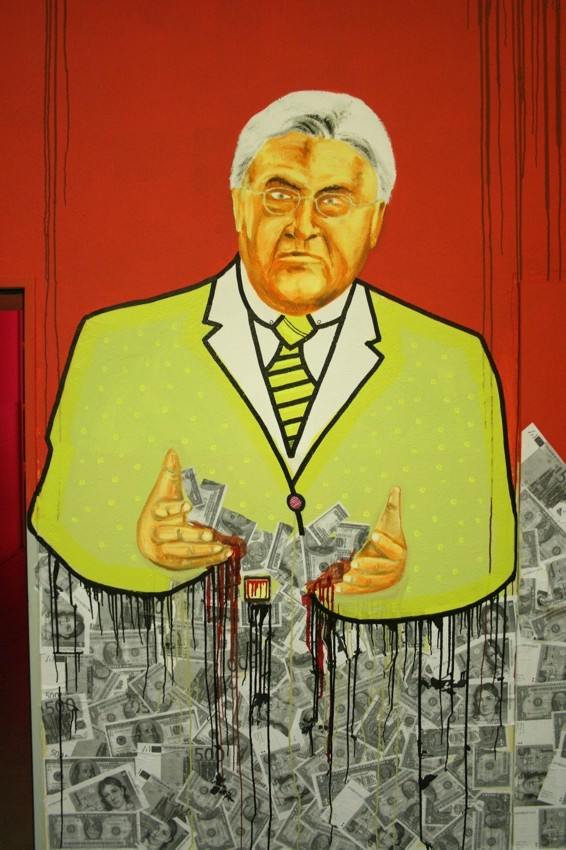 Frank Walther Steinmeier with Cash