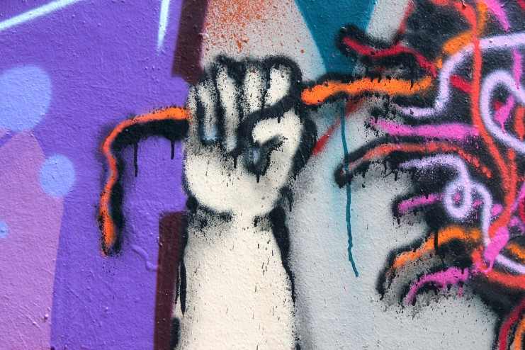 Graffiti Wall 3 Detail