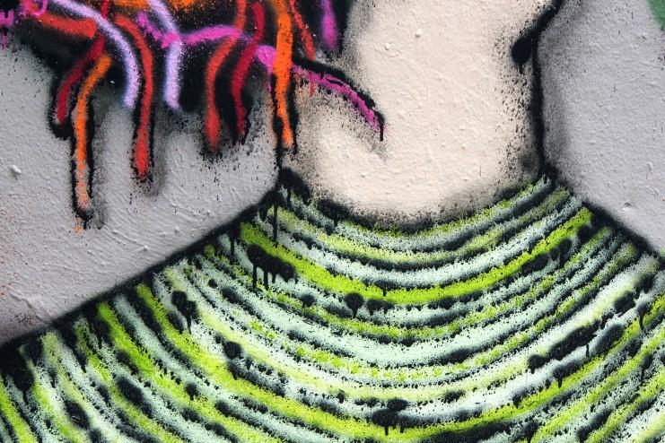 Graffiti Wall 4 Detail